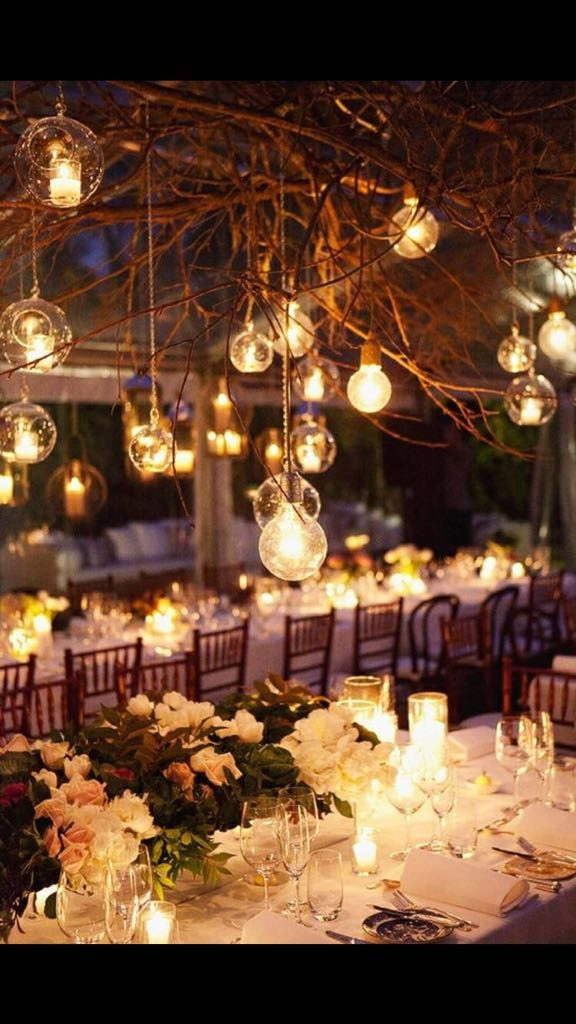 Love this wedding set up.